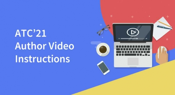 ATC'21 Author Video Instructions